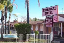 The Homestead Motor Inn - Accommodation Directory