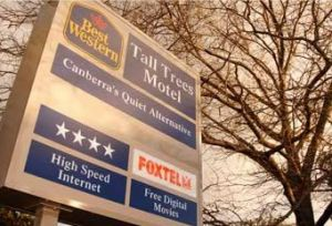 Best Western Tall Trees Motel - Accommodation Directory