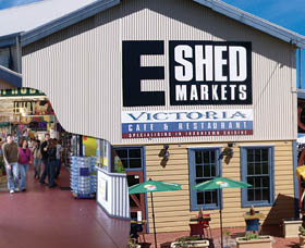 The E Shed Markets - Accommodation Directory