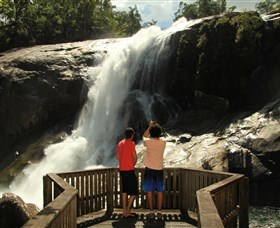 Murray Falls Girramay National Park - Accommodation Directory