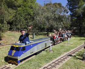 Willans Hill Miniature Railway - Accommodation Directory