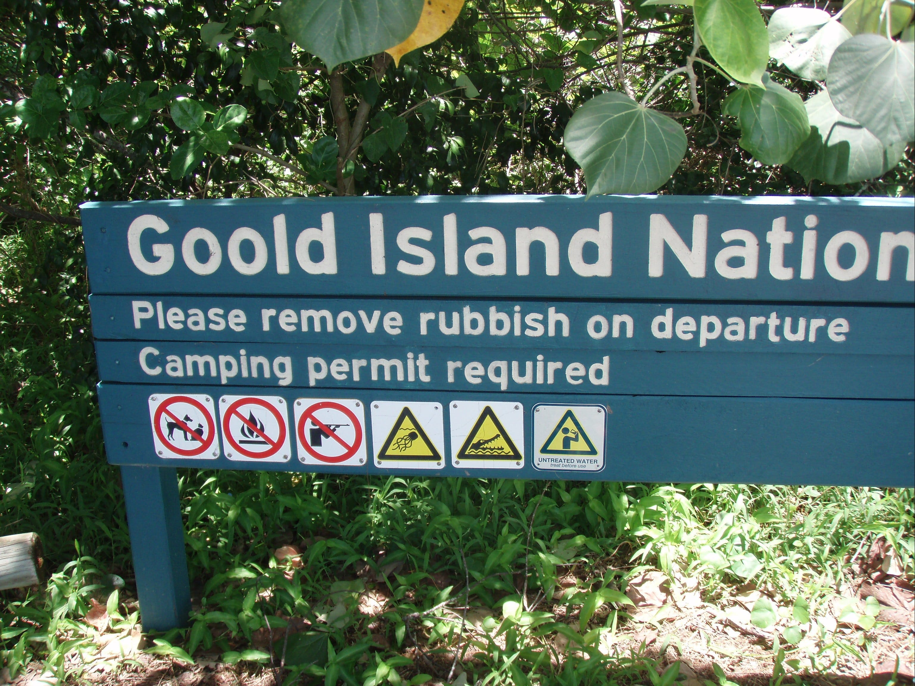 Goold Island National Park - Accommodation Directory
