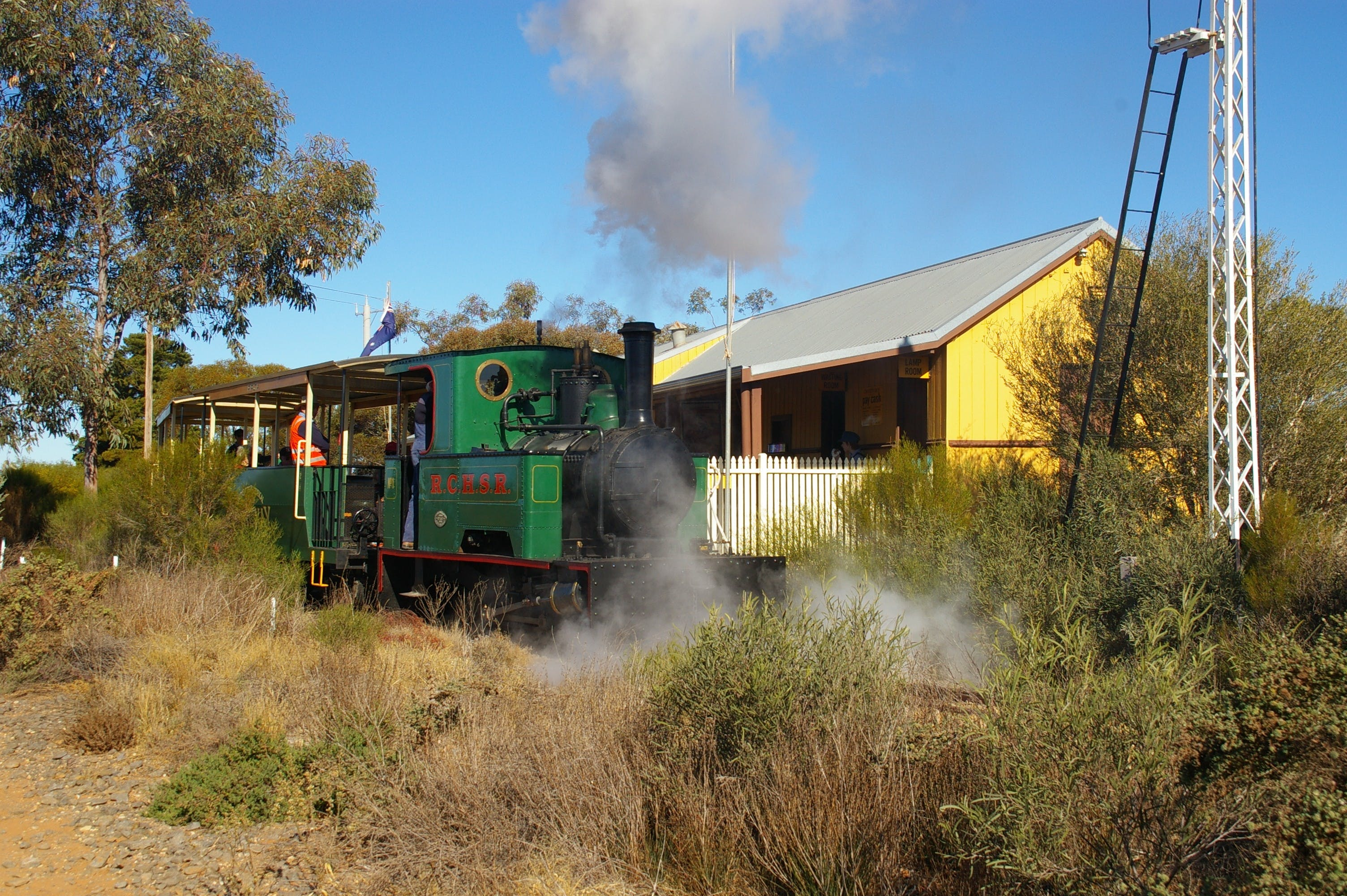 Red Cliffs Historical Steam Railway - Accommodation Directory