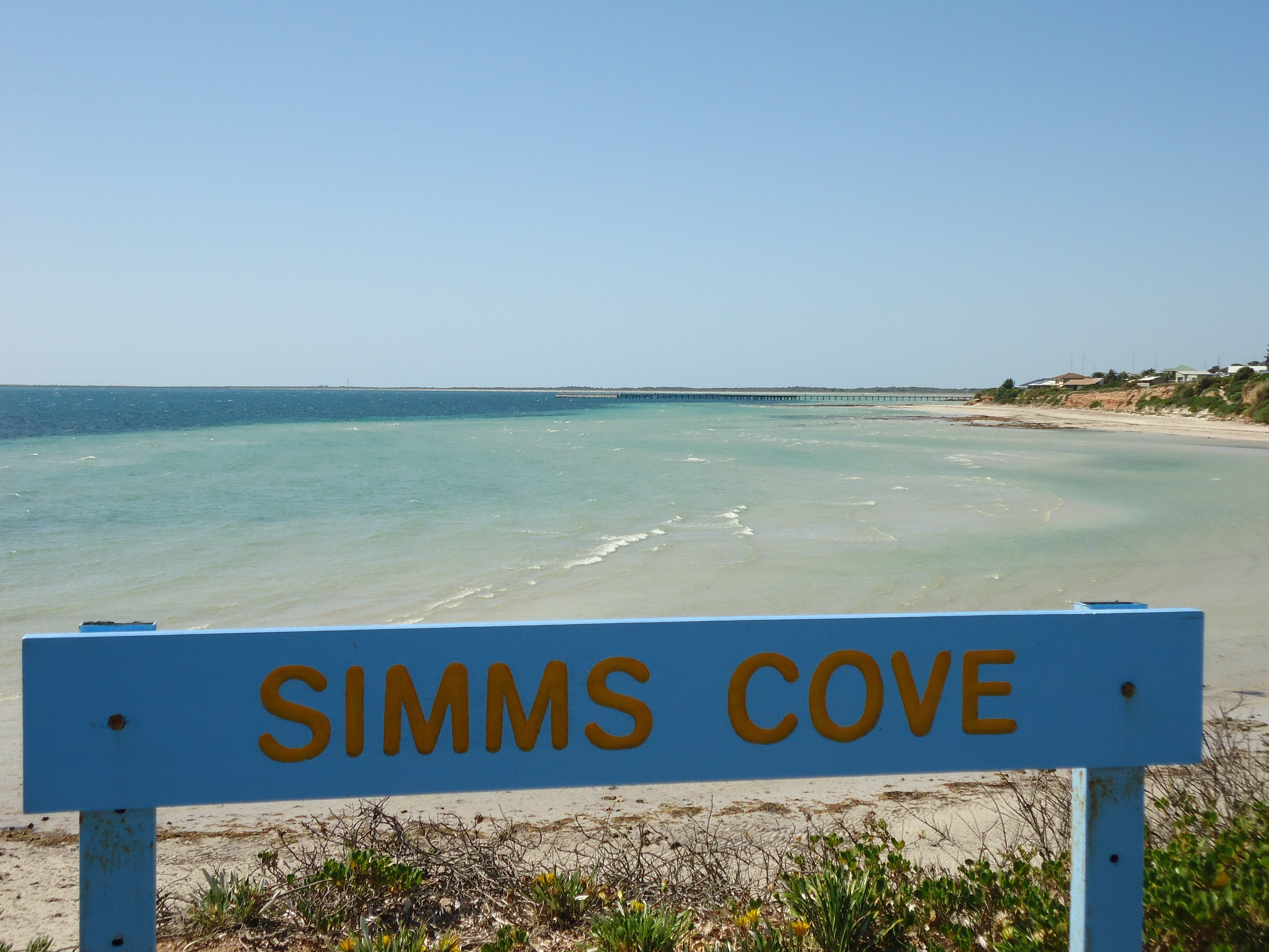 Simms Cove lookout and beach Moonta Bay - Accommodation Directory