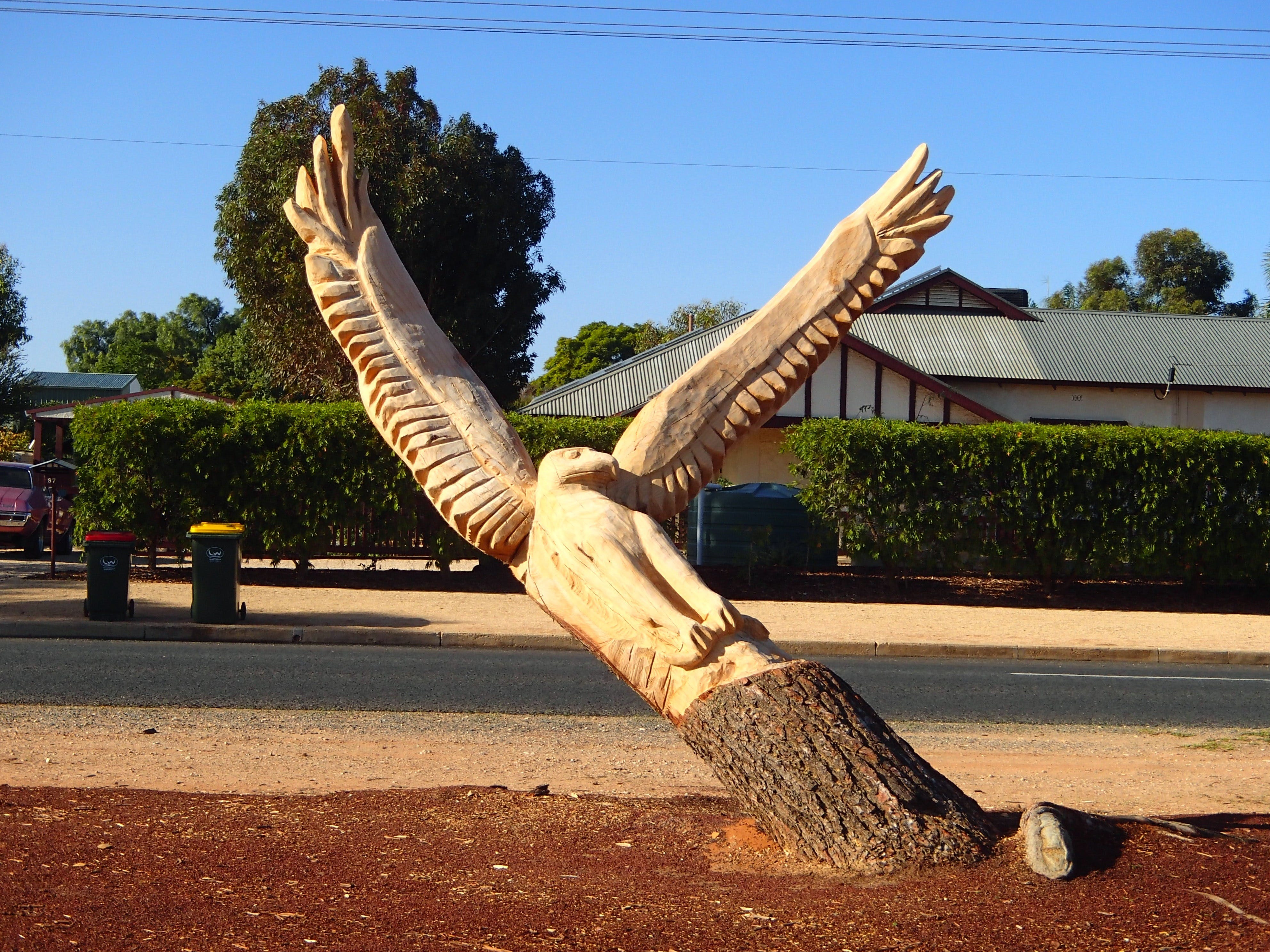 Loxton Tree sculptures - Accommodation Directory