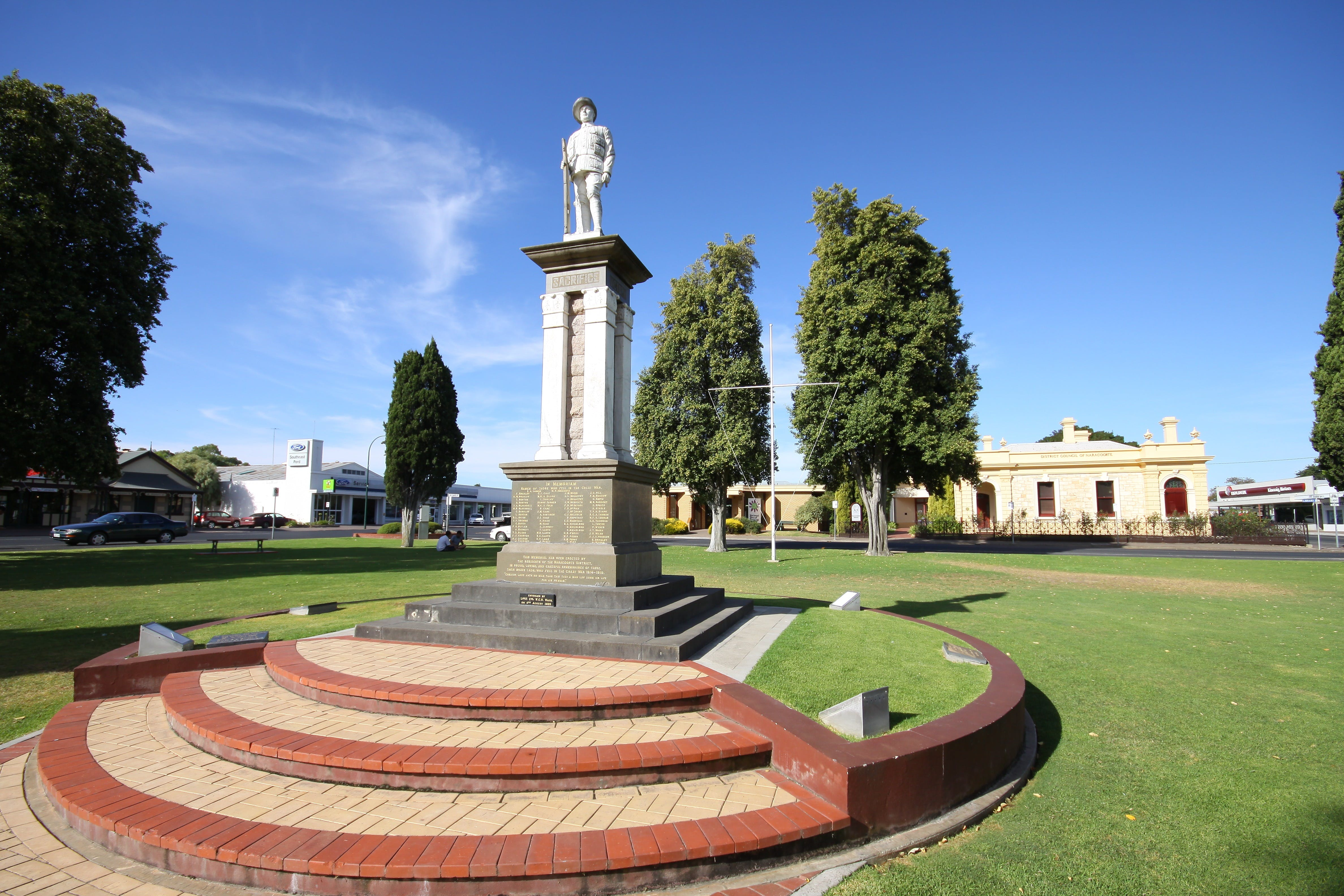 Naracoorte Town Square - Accommodation Directory