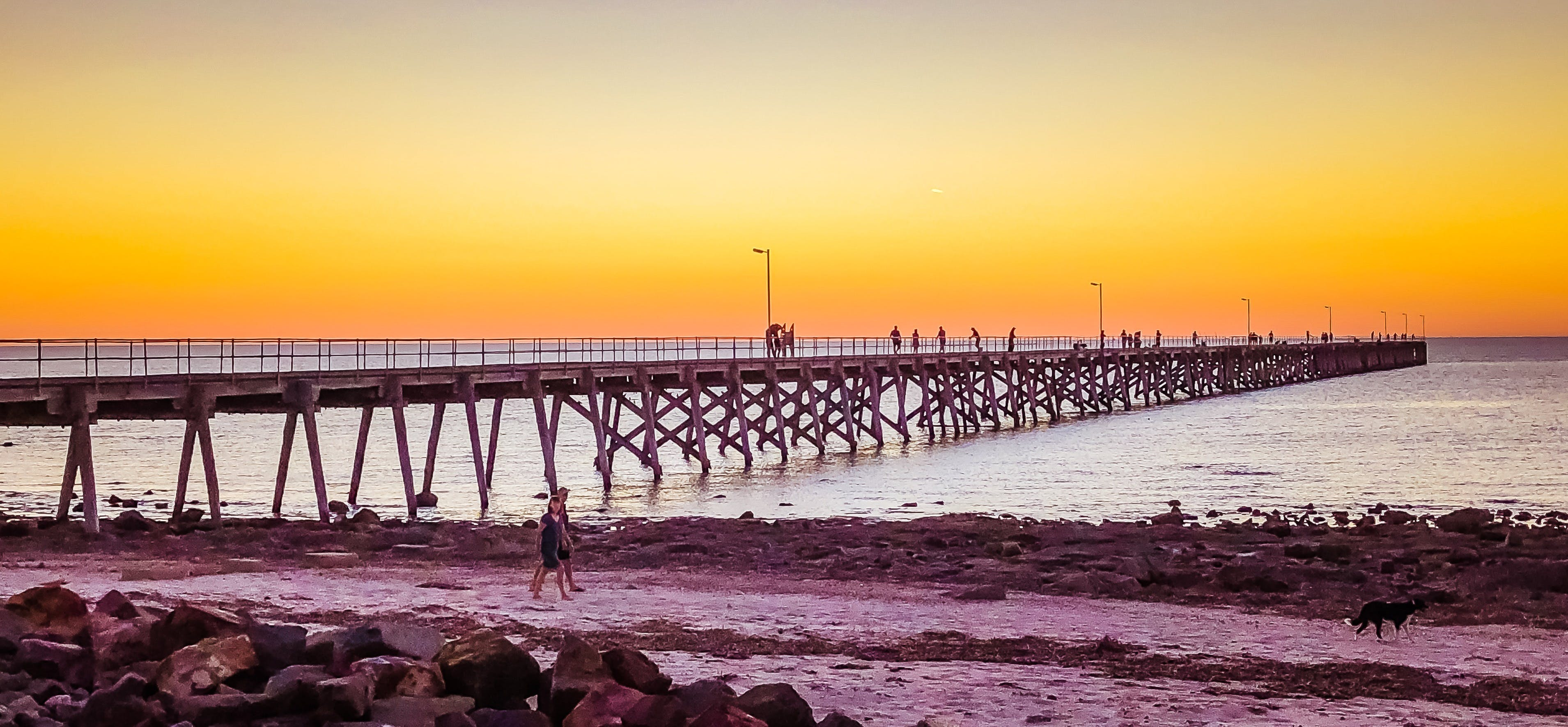 Port Hughes foreshore Port Hughes - Accommodation Directory