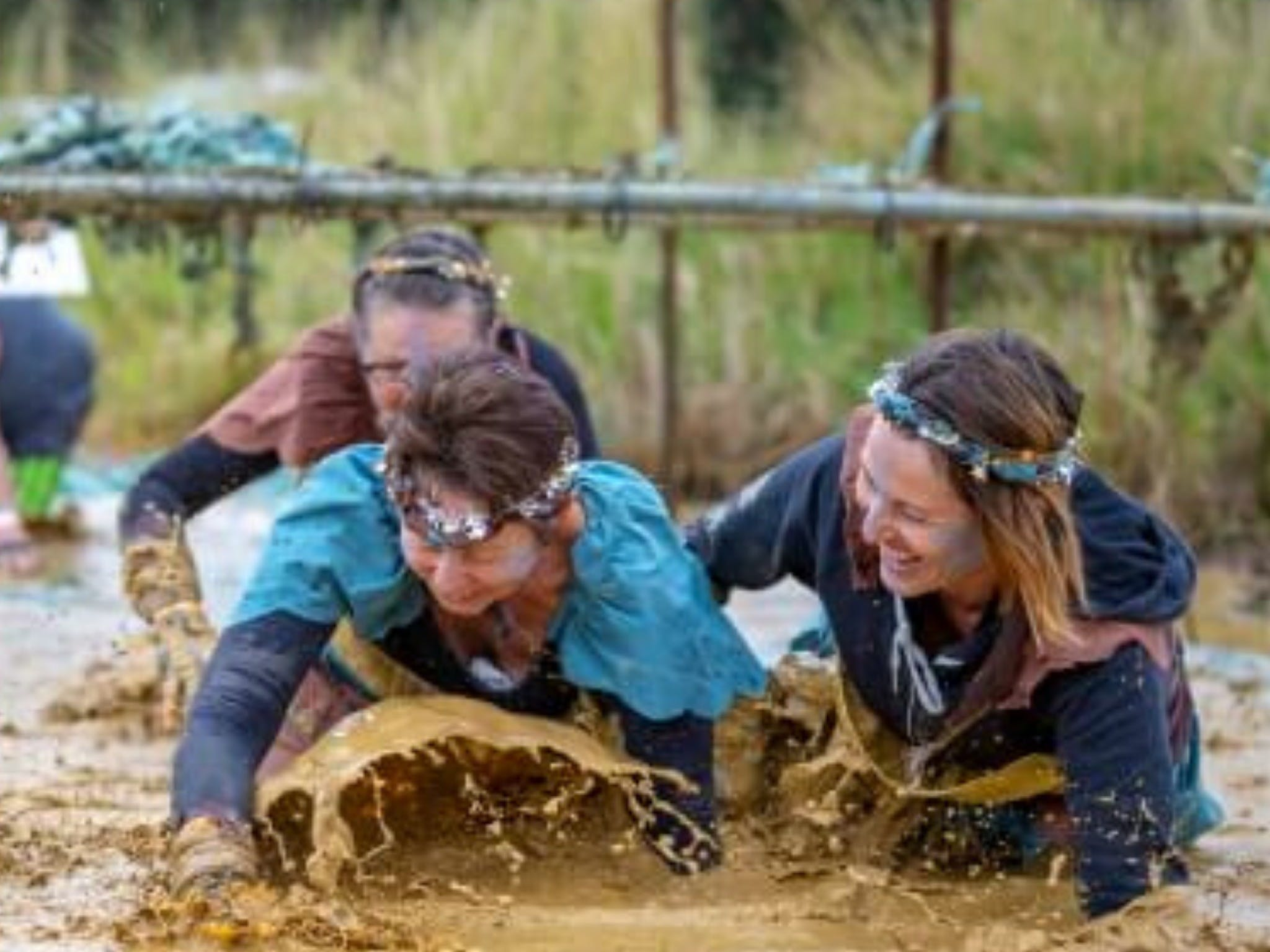 Suck It Up Buttercup Vikings Obstacle Course - Accommodation Directory