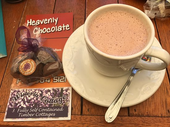 Stanthorpe's Heavenly Chocolate at Wisteria Cottage - Accommodation Directory