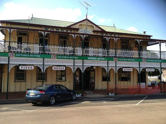The Wondai Hotel  Cellar - Accommodation Directory