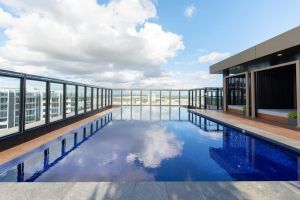 Japanese Style waterfront apt wt rooftop pool - Accommodation Directory
