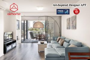 Art-Inspired Designer APT in the vibrant area - Accommodation Directory